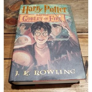 Harry Potter and the Goblet of Fire Jk Rowling HBK